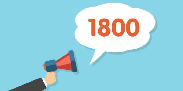 Get an 1800 number for your business